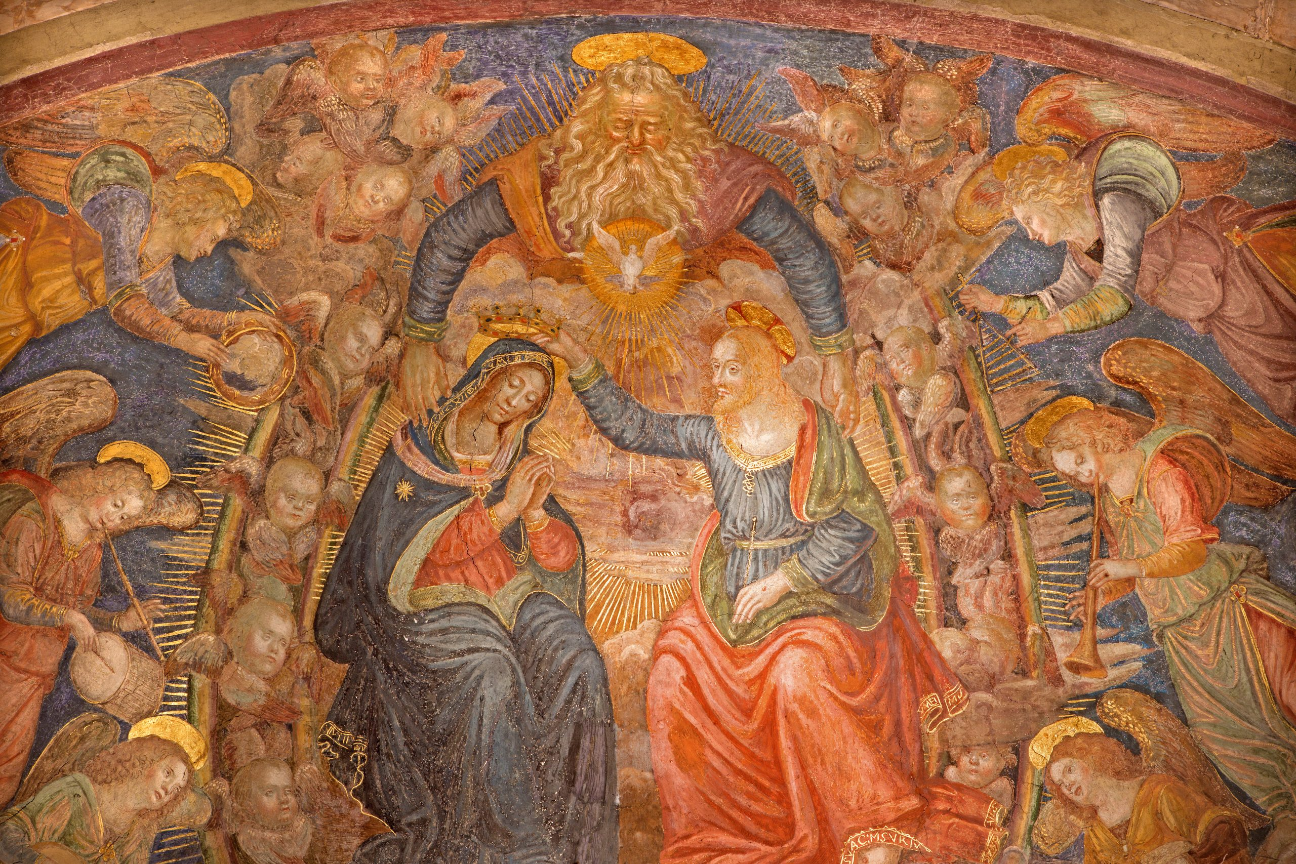 Mary's Assumption to Heaven and Coronation